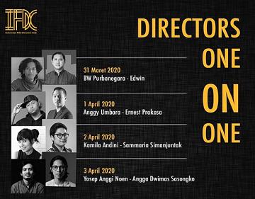 """インドネシアの映画監督対談ライブ中継 \""""Directors One on One#2\"""" @ifdclub_a0054926_15580837.jpg"""