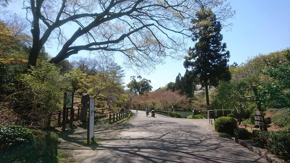 東山動植物園へ行ってきました~也有園編~_f0373339_16140632.jpg