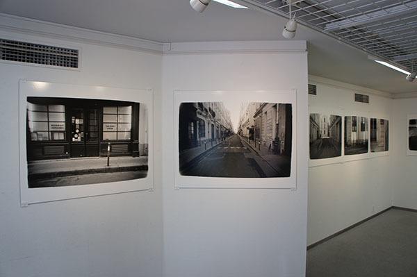 パリ、ヴェルヌイユ通り Hiro TOBE写真展_f0171840_15272412.jpg