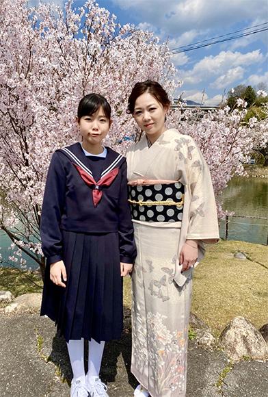 春爛漫・ご入学式エレガントシックなお着物でご列席_b0098077_17042112.jpg