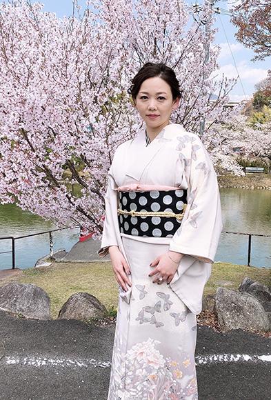 春爛漫・ご入学式エレガントシックなお着物でご列席_b0098077_17042657.jpg