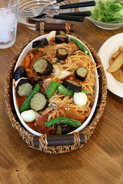 たけのこ料理とトマトパスタ_e0137277_00081184.jpg