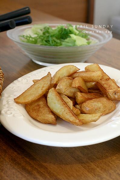 たけのこ料理とトマトパスタ_e0137277_00081556.jpg