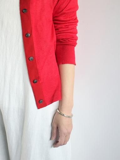 eleven 2nd Fine Linen Silk Button Cardigan_b0139281_18343598.jpg