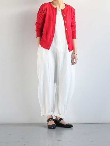eleven 2nd Fine Linen Silk Button Cardigan_b0139281_18350131.jpg