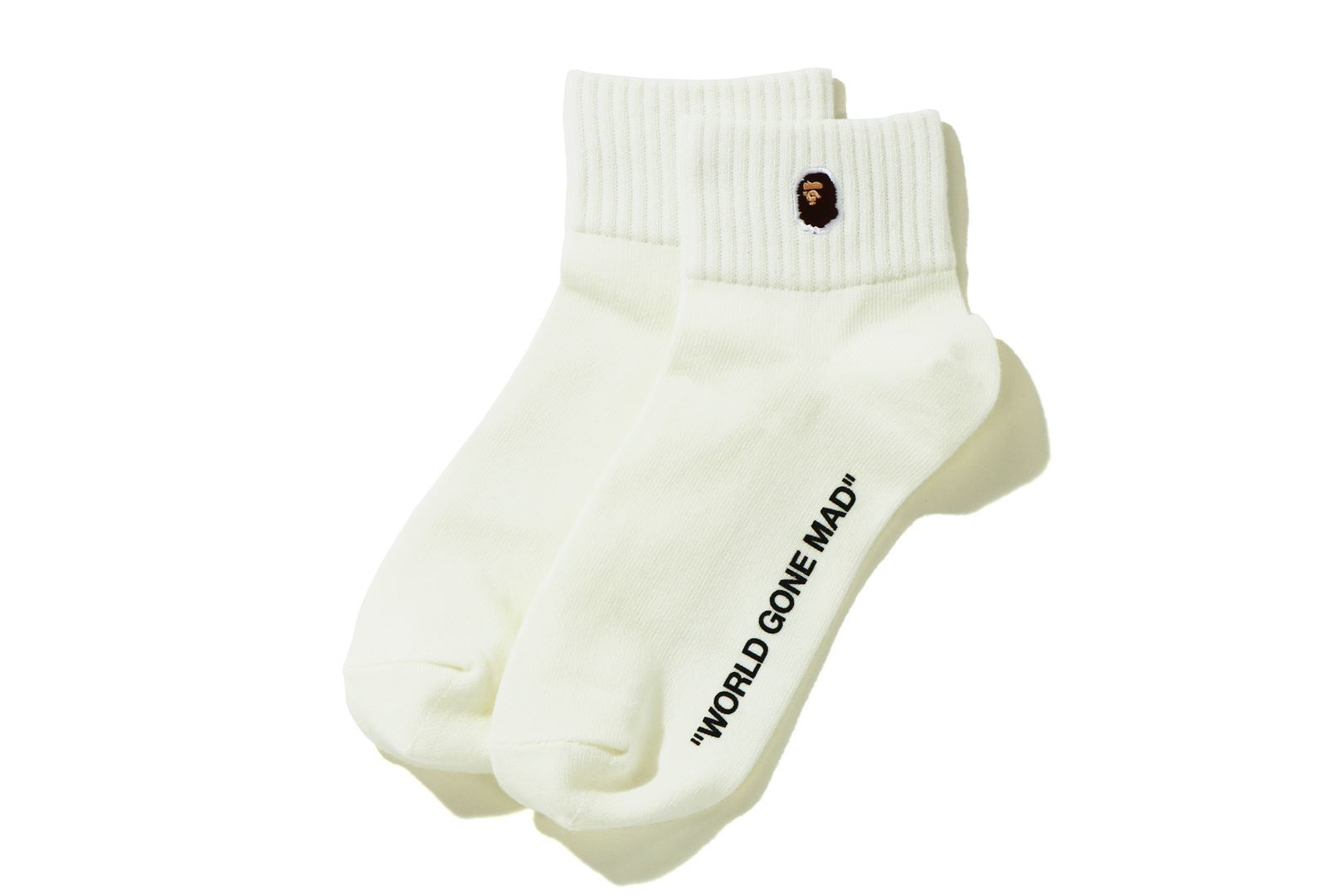 APE HEAD ONE POINT ANKLE SOCKS_a0174495_11554498.jpg