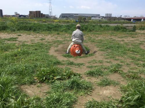 【号外】むちゃくちゃ座られる獅子太郎_f0203027_12410541.jpg
