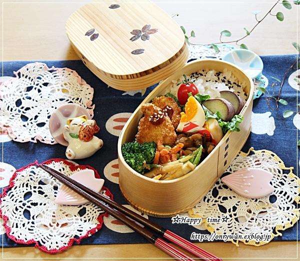 チキンカツ弁当と2020☆スーパームーン♪_f0348032_16170663.jpg