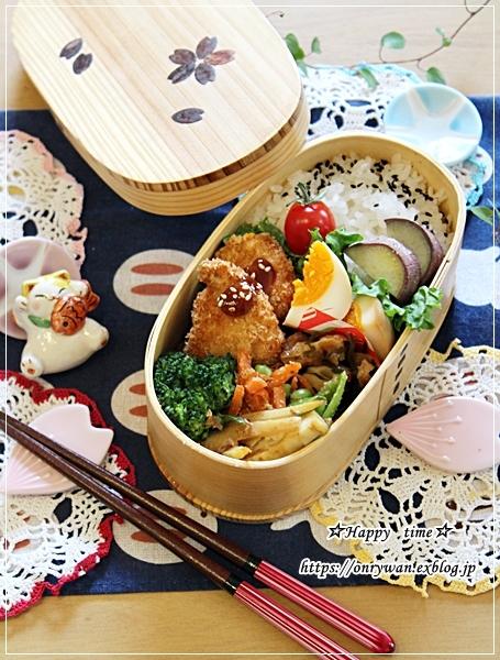 チキンカツ弁当と2020☆スーパームーン♪_f0348032_16171507.jpg