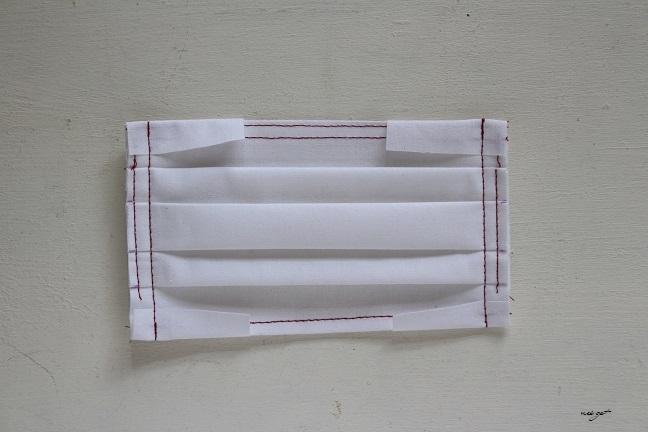 『フィルターポケット&ワイヤー通し口付き』プリーツマスクの作り方2_f0023333_23534236.jpg