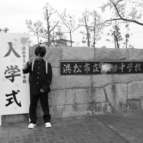自粛な中学入学式_c0089242_16241652.jpg