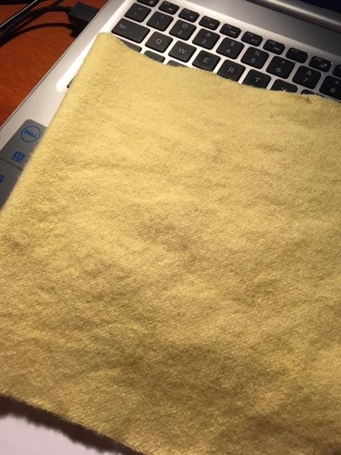 草木染めの忘備録ーウールにタンポポ_e0350971_22434472.jpg