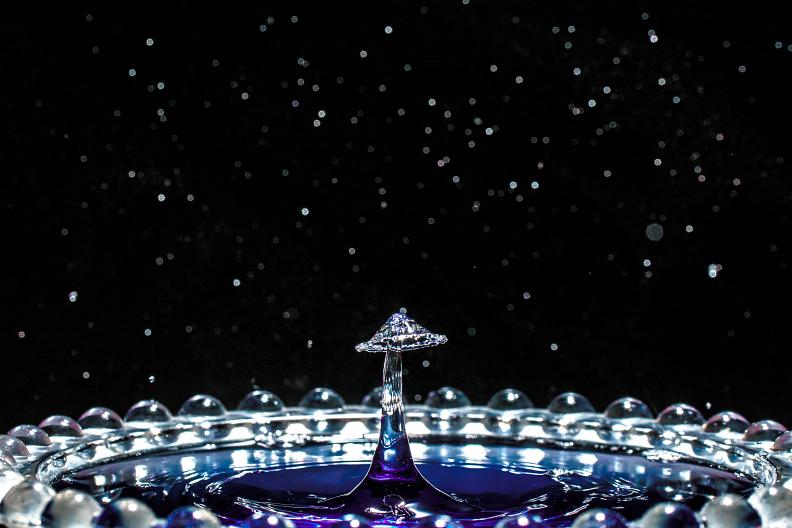 【備忘録】水滴アートに挑戦中 その25 ~宇宙空間で水のキノコを栽培する~ あと雑記_f0189086_19313075.jpg