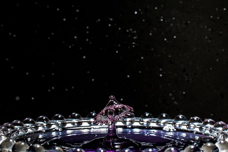 【備忘録】水滴アートに挑戦中 その25 ~宇宙空間で水のキノコを栽培する~ あと雑記_f0189086_19330631.jpg