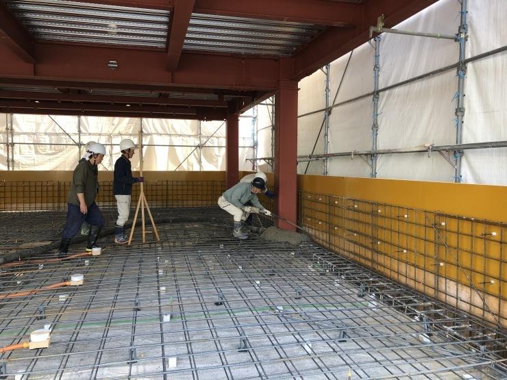 りぶうぇる練馬ディサービスセンター(13)  コンクリート打設_b0074416_18104020.jpeg