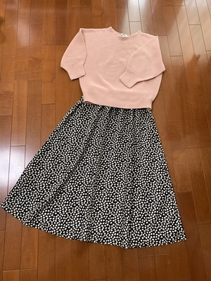 リーフレオパードのスカート完成だど!_f0251618_21070667.jpg