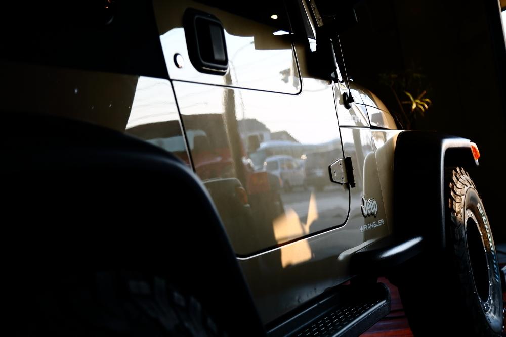 ご納車準備のTJと車検のお返し準備のTJ_f0105425_18352825.jpg