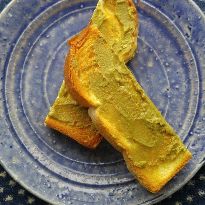 定番きな粉トーストの朝ごパン_c0124528_07115525.jpg