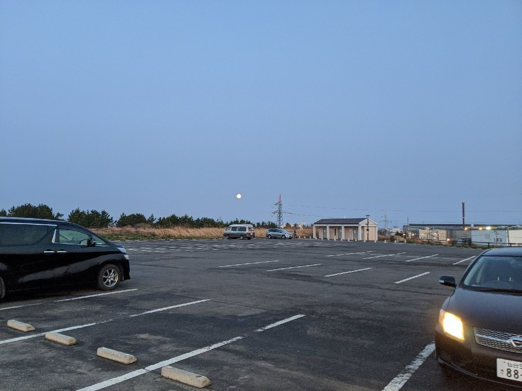 今朝の新港です。_e0081753_11202085.jpg