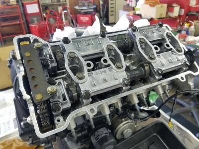 CBR600RR エンジンオーバーホール②_e0114857_10470345.jpg