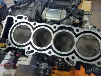 CBR600RR エンジンオーバーホール②_e0114857_10544001.jpg