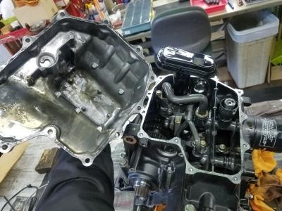 CBR600RR エンジンオーバーホール②_e0114857_10555960.jpg