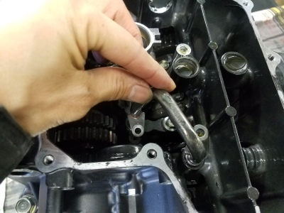 CBR600RR エンジンオーバーホール②_e0114857_10584318.jpg