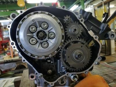 CBR600RR エンジンオーバーホール②_e0114857_11243618.jpg