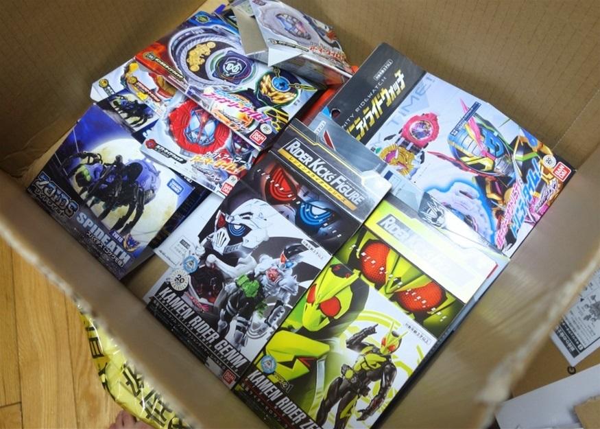 【ただの雑記】大量の玩具の空き箱を潰そう_f0205396_13561051.jpg