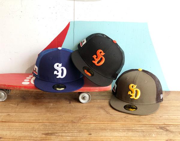 【DELIVERY】 STANDARD CALIFORNIA - NEW ERA×SD 59FIFTY Logo Mesh Cap_a0076701_17185327.jpg
