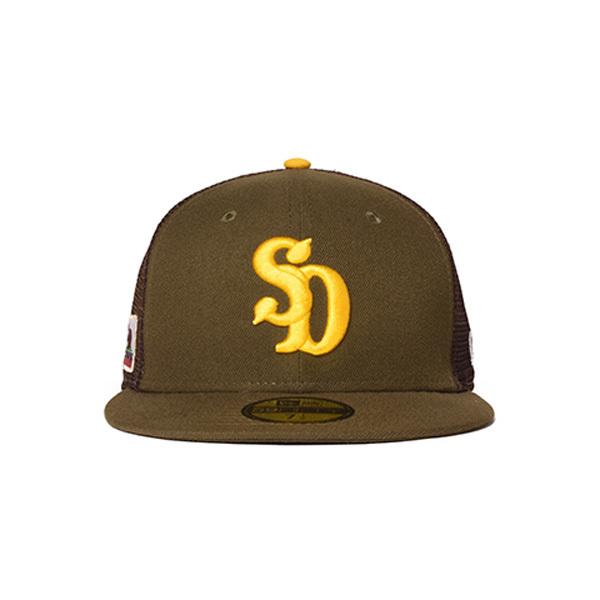 【DELIVERY】 STANDARD CALIFORNIA - NEW ERA×SD 59FIFTY Logo Mesh Cap_a0076701_17210002.jpg