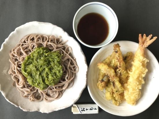 めかぶ蕎麦_e0264003_17105137.jpeg
