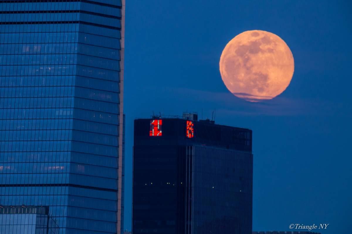 Second Super Moon in April 7 2020 -Super Pink Moon- 〈記録〉_a0274805_05213640.jpg