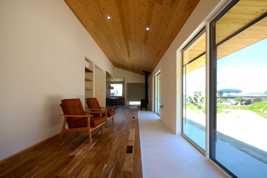 糸島「大庇の家」が完成しました。_e0029115_15513398.jpg