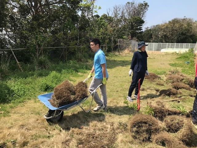 畑を作っています(臨時休校中の先生たち)_a0131631_10514586.jpg