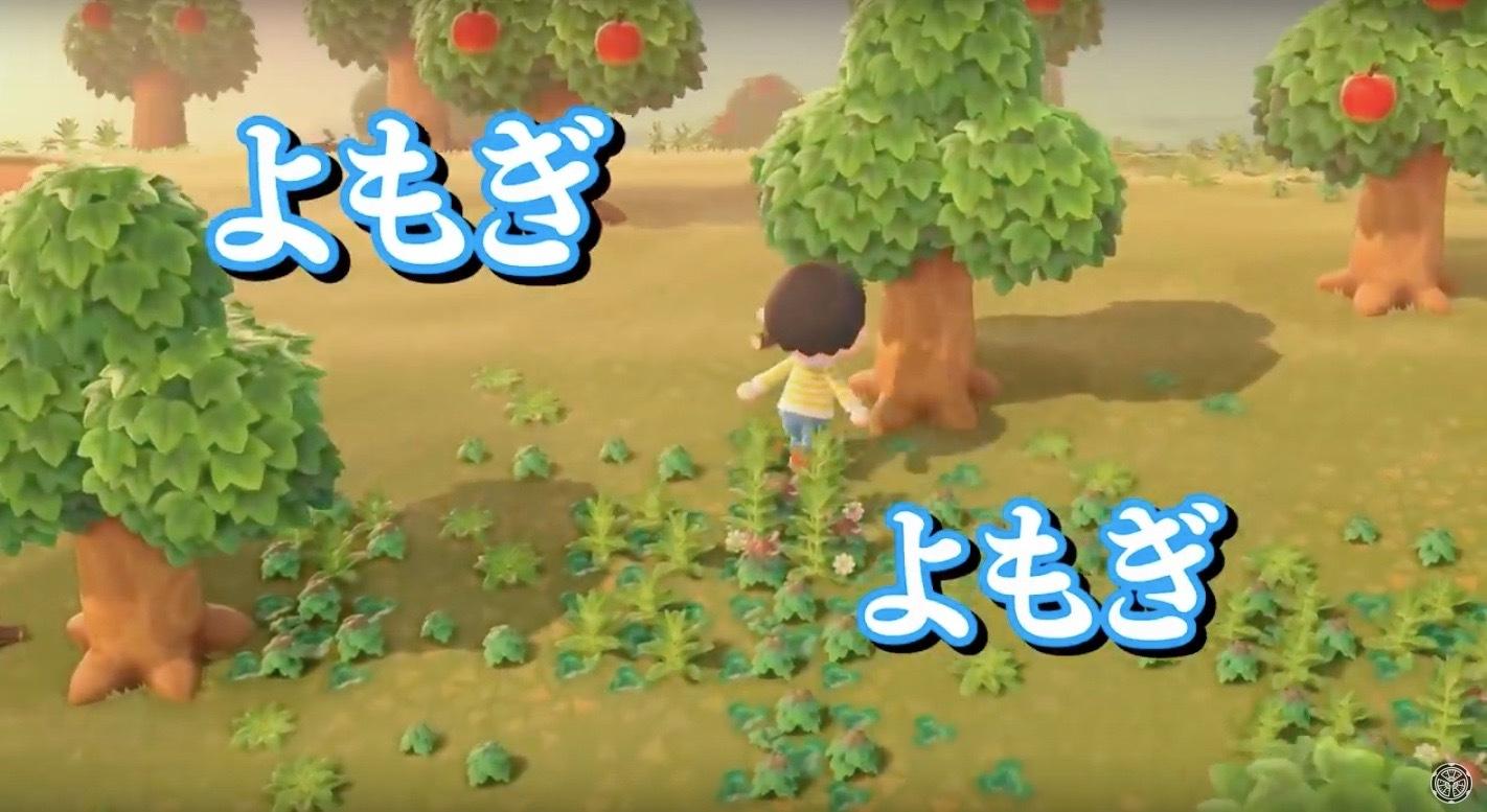 「あつまれどうぶつの森」ならぬ「集え!!けもの共の藪」_b0325640_14343759.jpg