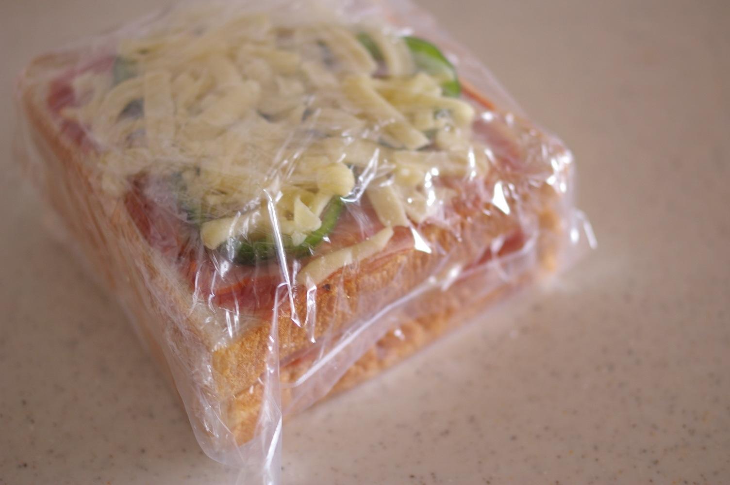 基本の冷凍ピザパン【レシピ】_d0327373_17440166.jpg