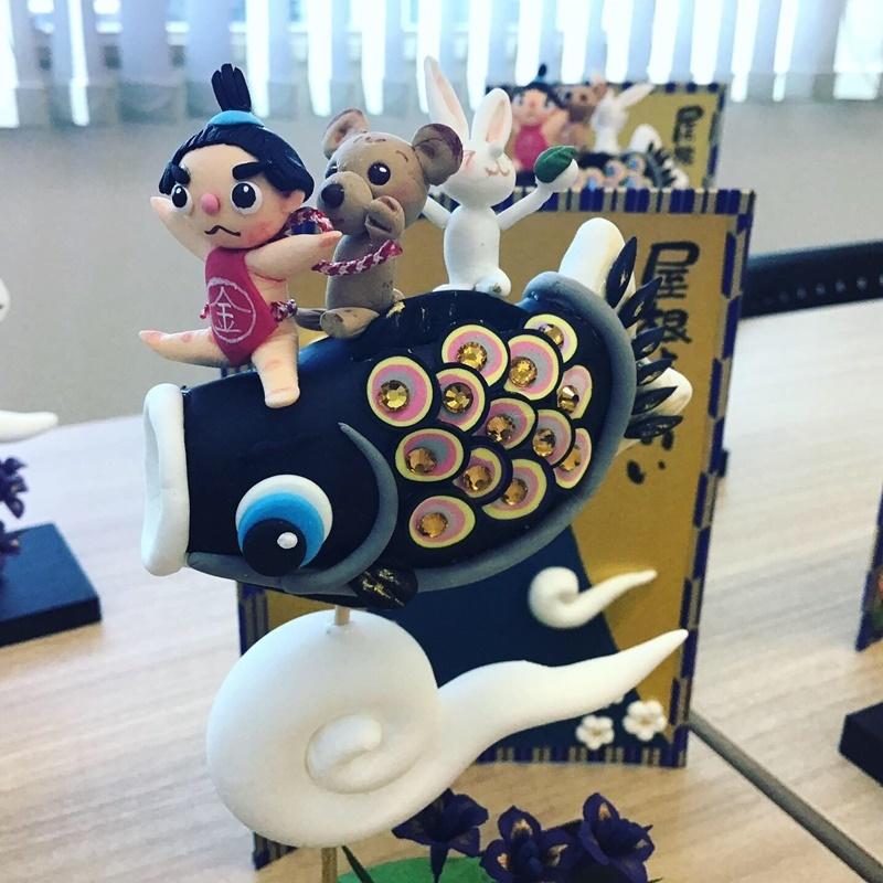 【くれいBOXアート~季節を彩る樹脂粘土~】体験会レポート_c0357605_11215295.jpg