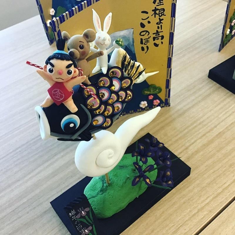 【くれいBOXアート~季節を彩る樹脂粘土~】体験会レポート_c0357605_11220541.jpg