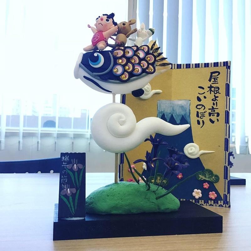 【くれいBOXアート~季節を彩る樹脂粘土~】体験会レポート_c0357605_11221309.jpg