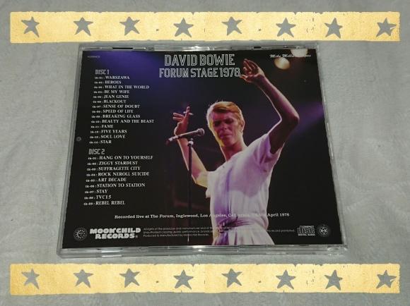 4/9宣言下2日目 DAVID BOWIE / FORUM STAGE 1978_b0042308_00004240.jpg
