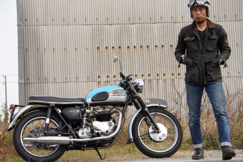 Haya & Triumph T120 Bonneville (2019.11.24/TOKONAME)_f0203027_14533313.jpg