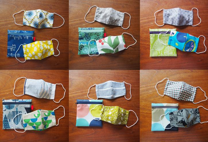 「eco bag & mask set」10タイプ_e0243765_01115839.jpg