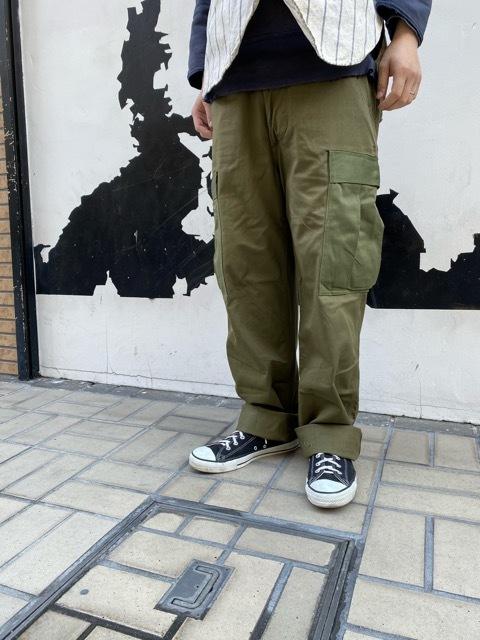 再入荷!! NOS 50\'s U.S Army M-51 Modified Field Cargo Pants!!(マグネッツ大阪アメ村店)_c0078587_16482418.jpg