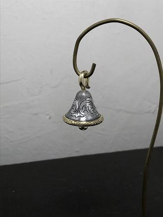 シルバーと真鍮の梵字ベル2~!_e0170707_08403149.jpg