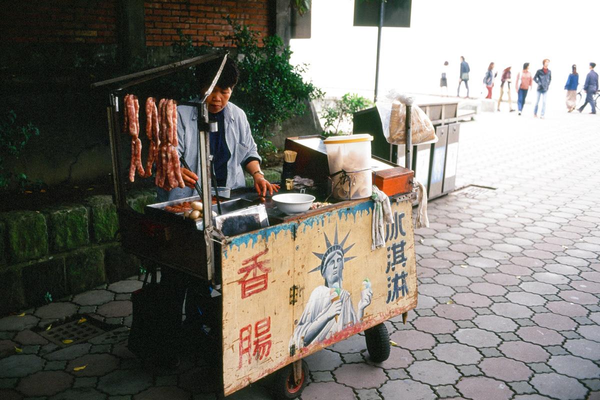 【台湾散歩2001後編】淡水  仲間と北の港町へ_b0061717_16042539.jpg