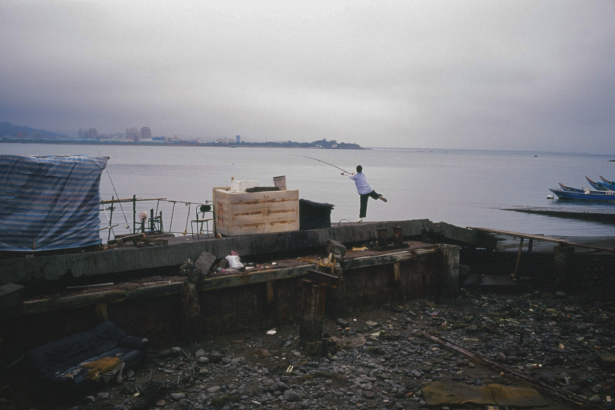 【台湾散歩2001後編】淡水  仲間と北の港町へ_b0061717_16042544.jpg