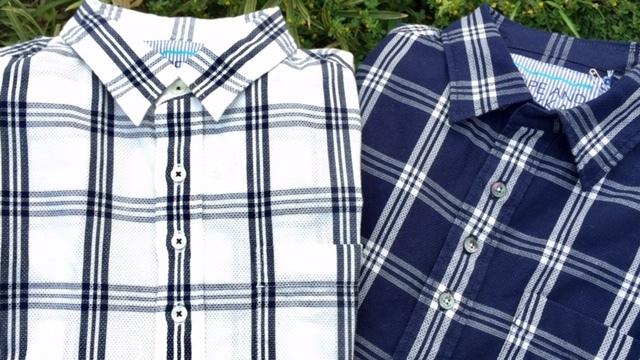 SU-SU-CHECK SHIRT! スースー心地良いシャツが出来上がりました♪_d0108933_18242727.jpg