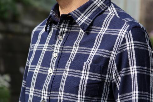 SU-SU-CHECK SHIRT! スースー心地良いシャツが出来上がりました♪_d0108933_18254507.jpg