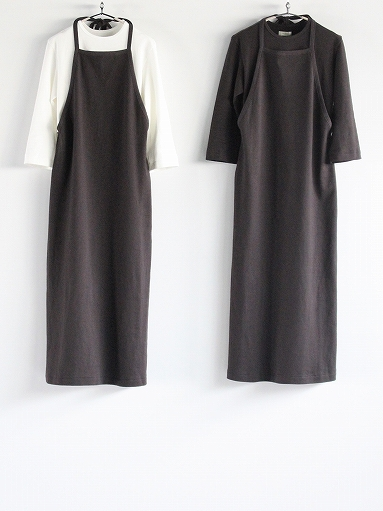 THE HINOKI Organic Cotton 3/4 Sleeve Layered Dress (PRODUCTS FOR US)_b0139281_16502526.jpg